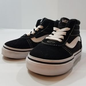 VANS OFF THE WALL HIGH TOP TODDLER SHOE SIZE 5